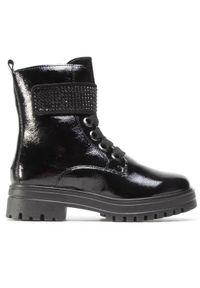 Czarne buty trekkingowe Sergio Bardi klasyczne, z cholewką