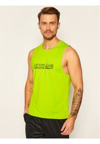 Zielony tank top Calvin Klein Performance