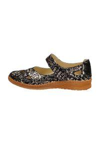 Czarne POLSKIE sandały damskie DEONI D416. Kolor: czarny. Materiał: skóra. Obcas: na obcasie. Styl: klasyczny. Wysokość obcasa: średni