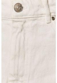Biała spódnica only na co dzień, casualowa