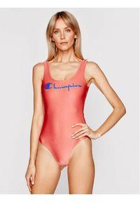 Champion Strój kąpielowy Reversible Script Logo 113154 Różowy. Kolor: różowy