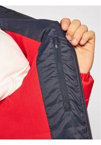 Czerwona kurtka zimowa Lacoste
