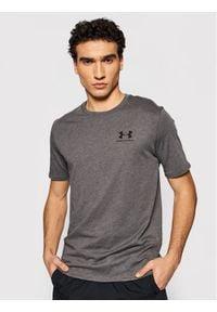 Under Armour T-Shirt 1326799 Szary Loose Fit. Kolor: szary