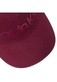 Czerwona czapka z daszkiem Clae