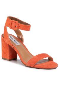 Pomarańczowe sandały Steve Madden na co dzień, casualowe