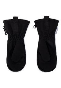 Czarne rękawiczki sportowe Reima narciarskie