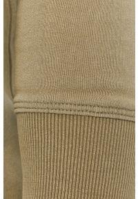 Selected - Bluza bawełniana. Okazja: na co dzień. Kolor: zielony. Materiał: bawełna. Wzór: gładki. Styl: casual