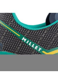 Zielone buty trekkingowe Millet z cholewką, trekkingowe