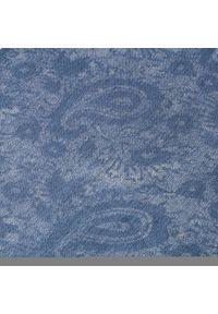 Niebieski szalik Pierre Cardin marine