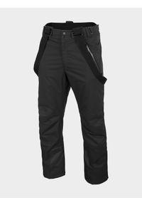 Czarne spodnie narciarskie 4f Dermizax