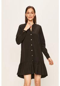 Czarna sukienka Noisy may na co dzień, casualowa