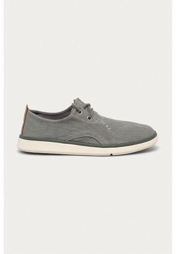 Timberland - Półbuty Gateway Pier. Nosek buta: okrągły. Zapięcie: sznurówki. Kolor: szary. Materiał: guma