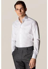 Eton - ETON - Koszula. Kolor: biały. Materiał: tkanina. Długość rękawa: długi rękaw. Długość: długie. Wzór: gładki
