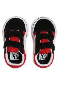 Vans - Tenisówki VANS - Comfycush Old Sko VN0A4TZI35U1 (Checkerboard) Black/Red. Zapięcie: rzepy. Kolor: czerwony. Materiał: zamsz, materiał, skóra. Szerokość cholewki: normalna