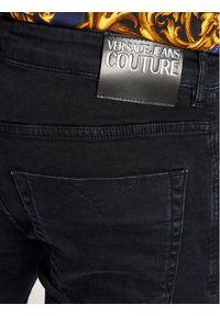 Versace Jeans Couture Jeansy Milano 71GABCS0 Granatowy Slim Fit. Kolor: niebieski