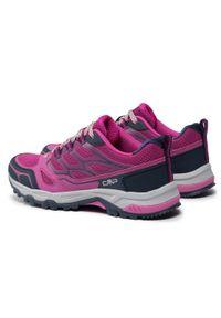 Trekkingi CMP - Zaniah Wmn Trail Shoe 39Q9626 Malva/Blue 05HG. Kolor: różowy. Materiał: materiał