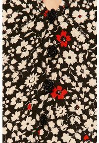 Wielokolorowa sukienka Polo Ralph Lauren w kwiaty, z krótkim rękawem