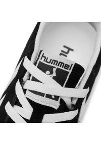 Czarne półbuty Hummel klasyczne, z cholewką