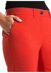 Czerwone spodnie bonprix biznesowe, na spotkanie biznesowe