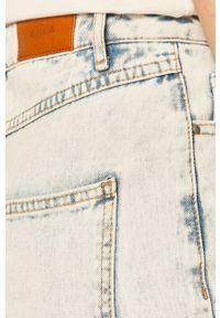 Niebieskie jeansy Vila z podwyższonym stanem