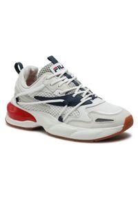 Sneakersy FILA - Spettro X Low 1011162.92N White/Fila Navy/Fila Red. Okazja: na co dzień. Kolor: biały. Materiał: zamsz, materiał, skóra. Szerokość cholewki: normalna. Styl: casual, klasyczny, elegancki