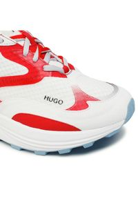 Białe półbuty Hugo