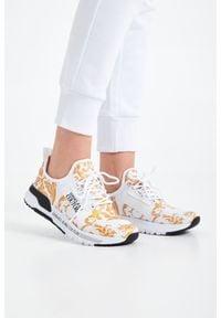 Versace Jeans Couture - SNEAKERSY VERSACE JEANS COUTURE. Zapięcie: sznurówki. Materiał: guma, materiał. Wzór: aplikacja