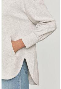Szara bluza rozpinana Max Mara Leisure z kapturem, melanż #5