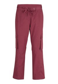 Czerwone spodnie bonprix