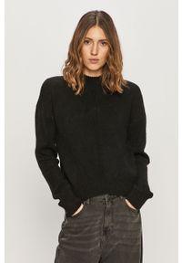 Czarny sweter Noisy may z długim rękawem, długi