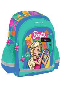 Starpak Plecak szkolny Barbie turkusowy (372646). Kolor: turkusowy