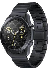 SAMSUNG - Smartwatch Samsung Galaxy Watch 3 Titanium 45mm Czarny (SM-R840NTKAEUD). Rodzaj zegarka: smartwatch. Kolor: czarny