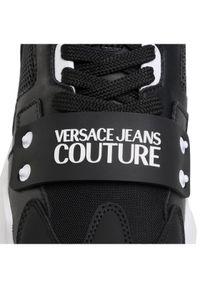 Versace Jeans Couture Sneakersy E0YWASC4 Czarny. Kolor: czarny
