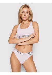 Calvin Klein Underwear Figi klasyczne 000QF5940E Fioletowy. Kolor: fioletowy