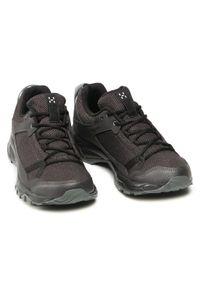 Haglöfs - Trekkingi HAGLÖFS - Trail Fuse Women 498220 Slate/True Black. Okazja: na spacer. Kolor: czarny. Materiał: skóra ekologiczna, materiał. Szerokość cholewki: normalna #5