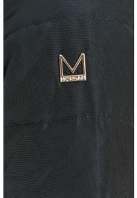 Niebieska kurtka Morgan z kapturem