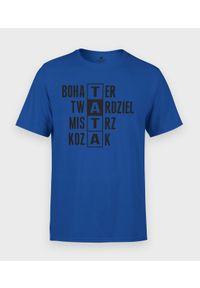MegaKoszulki - Koszulka męska na dzień taty - Tata Twardziel 3. Materiał: bawełna