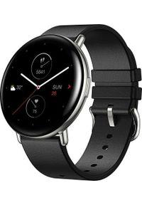 AMAZFIT - Smartwatch Amazfit Zepp E Round Czarny (xiaomi_20201027111737). Rodzaj zegarka: smartwatch. Kolor: czarny