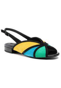 Geox Sandały D Wistrey S. B D024HB 00021 C2M3Q Kolorowy. Wzór: kolorowy