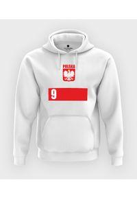 MegaKoszulki - Bluza z kapturem Bluza Reprezentacji Polski. Typ kołnierza: kaptur