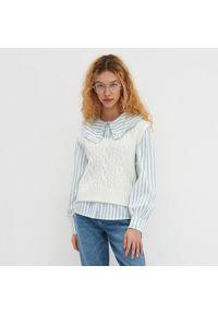 Kremowy sweter House