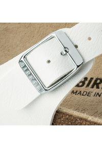 Birkenstock - Japonki BIRKENSTOCK - Gizeh 0043733 White. Kolor: biały. Materiał: skóra ekologiczna, materiał