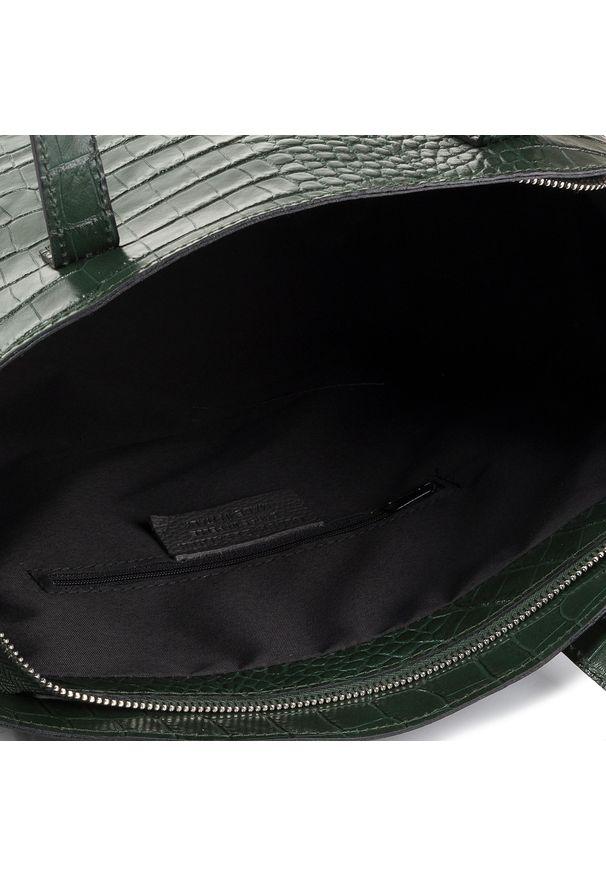 Zielona torebka klasyczna Creole klasyczna