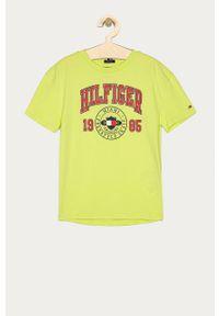 T-shirt TOMMY HILFIGER casualowy, z nadrukiem