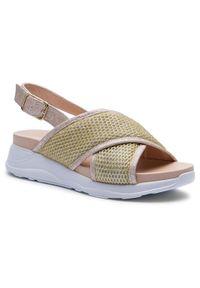 Złote sandały Togoshi