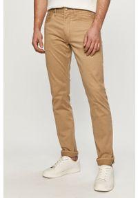Polo Ralph Lauren - Spodnie. Okazja: na co dzień. Kolor: beżowy. Materiał: tkanina. Wzór: gładki. Styl: casual