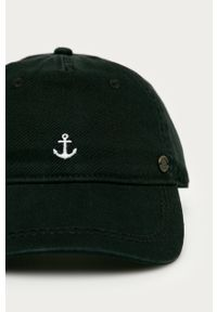 Czarna czapka z daszkiem Roxy z aplikacjami