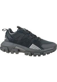 Czarne sneakersy CATerpillar w kolorowe wzory, z cholewką
