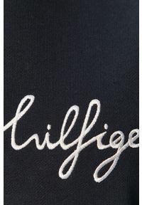 TOMMY HILFIGER - Tommy Hilfiger - Bluza bawełniana. Okazja: na co dzień. Kolor: niebieski. Materiał: bawełna. Styl: casual