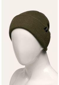 Zielona czapka Tom Tailor Denim w kolorowe wzory